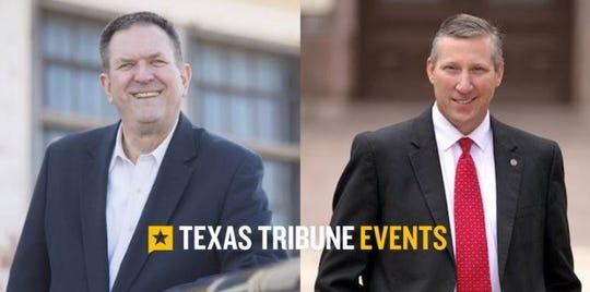 Stan Lambert and Drew Springer will be at a Texas Tribune luncheon in Abilene on Thursday.