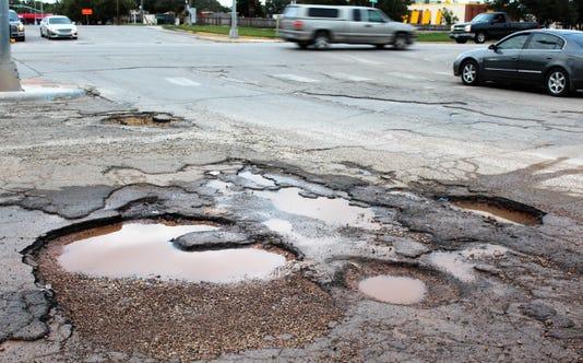 Yesway Potholes