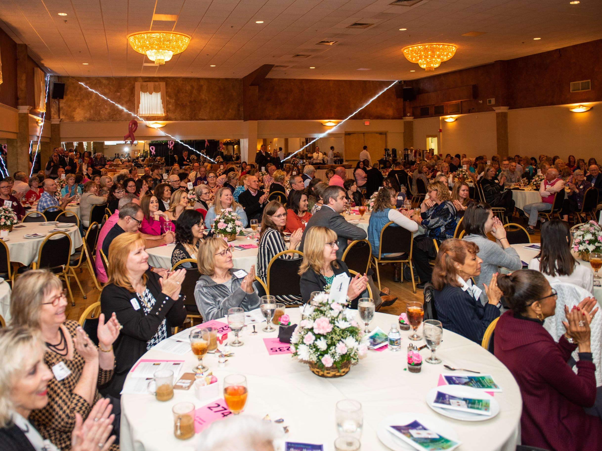 The annual Here's Hope Fashion Show and Luncheon Oct. 20 at the Asheville Event Centre was a fundraiser for the Hope Chest for Women, which offers financial assistance to women in WNC who are undergoing treatment for breast or gynecological cancers.