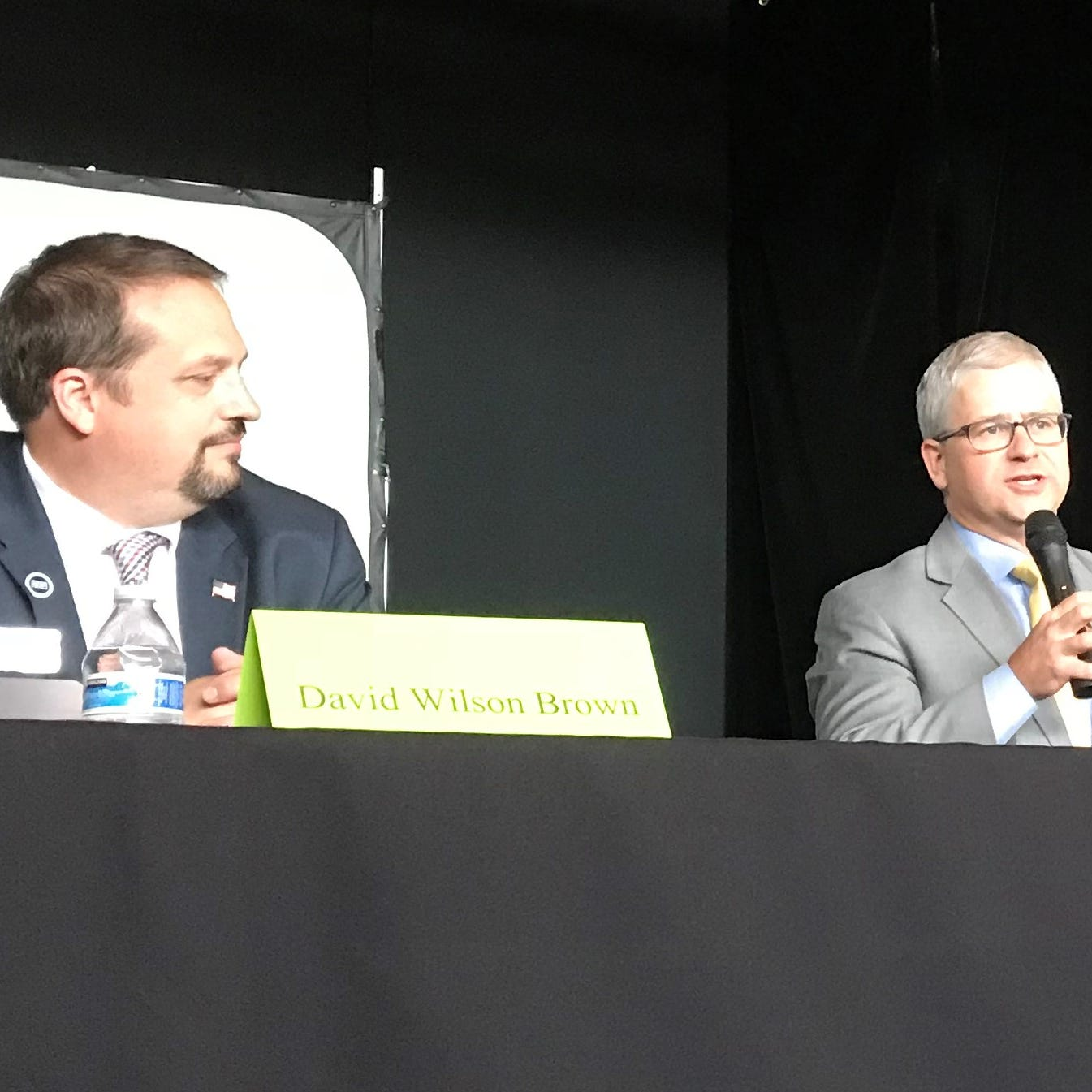 Pelosi, tax cuts, ACA at center of congressional debate between Brown and McHenry