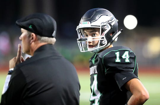 John Hartford of Klahowya split time at quarterback last year and to begin this season. Now that he has won the job, he is on the verge of setting several school passing records.