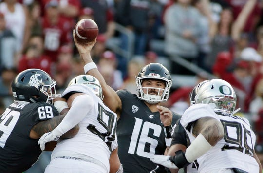 Quarterback Gardner Minshew and the Cougars appear to be the best team in the Pac-12 after last week's win in Pullman over Oregon.