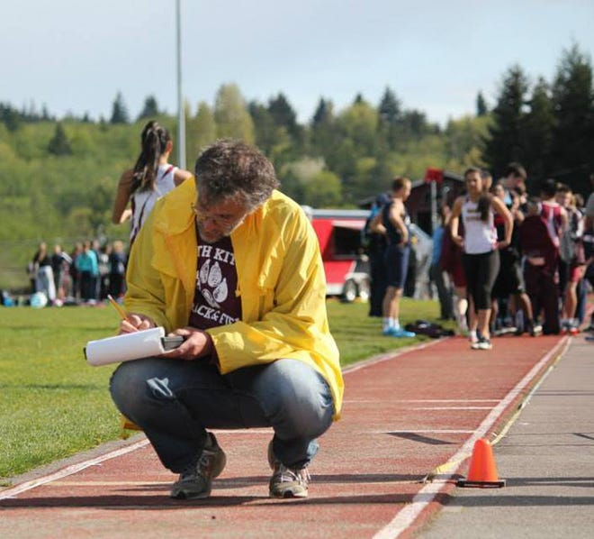 Glenn Wachtman is involved in track and field at a number of levels, including operating the Thrillers Track Club.