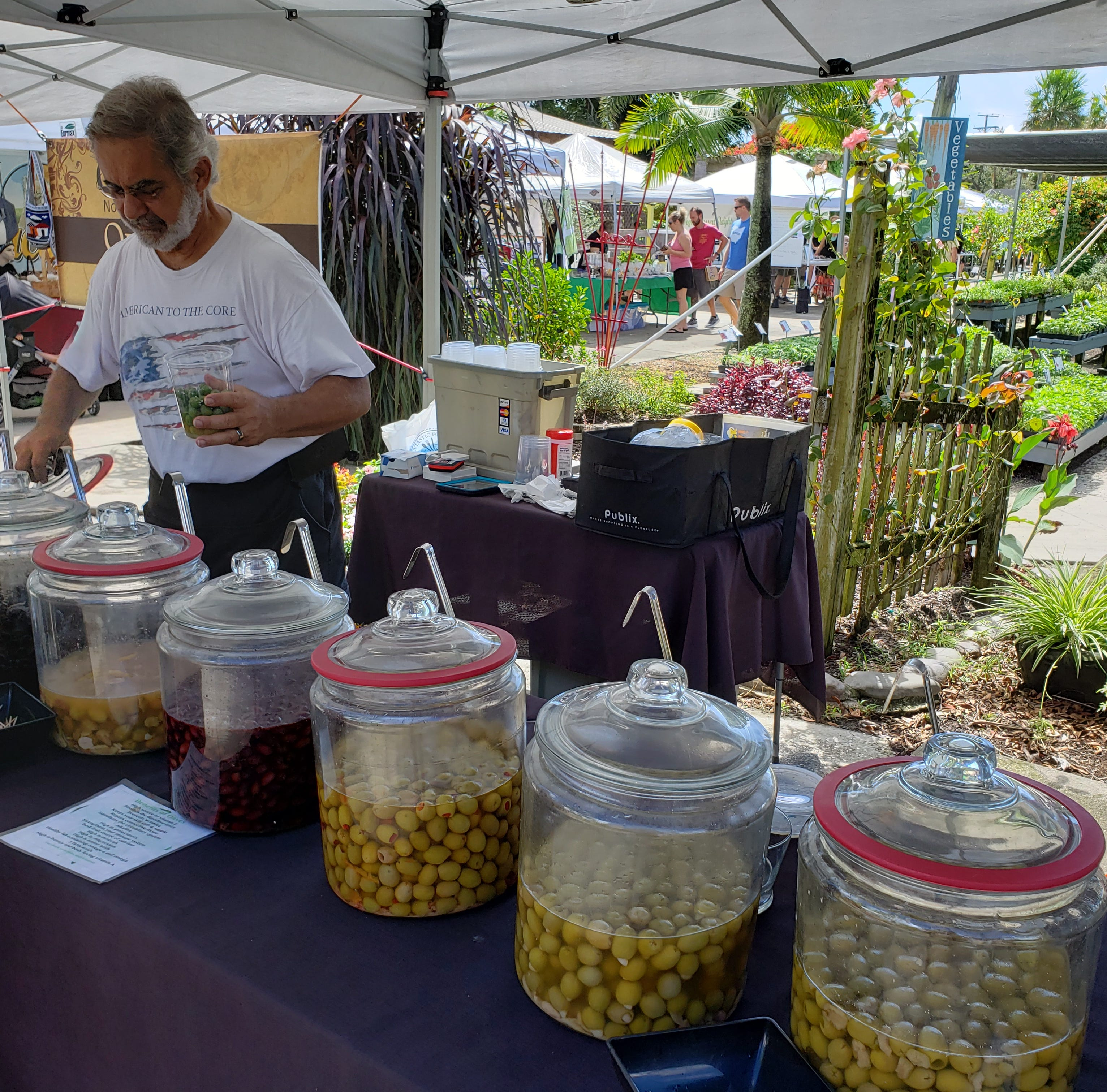 Q&A: Retired salesman a regular at Brevard farmers markets with gourmet olives