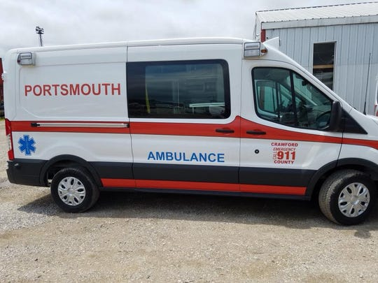 Portsmouth EMS currently provides ambulance service throughout the Central Joint Ambulance District.