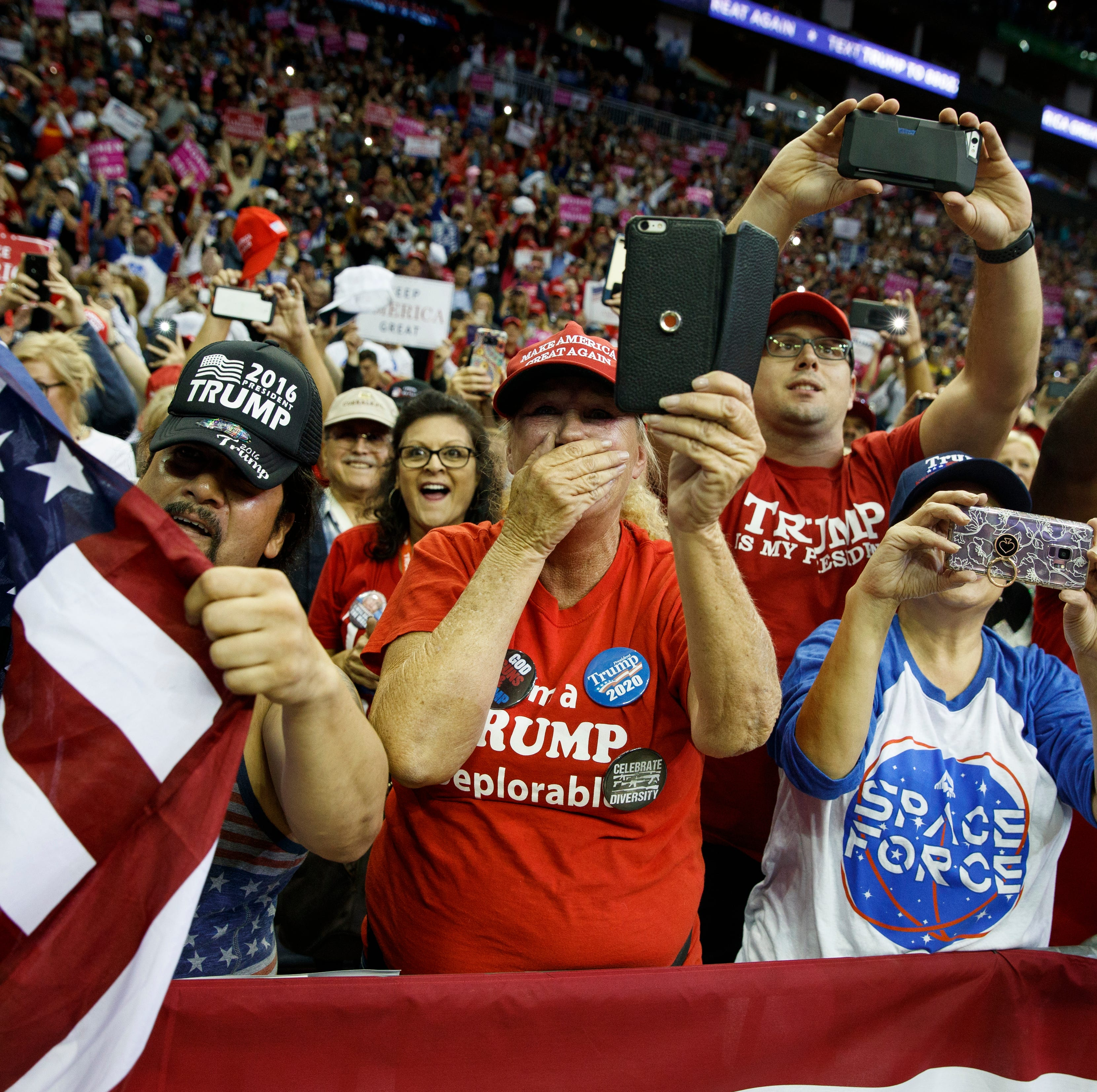 Meet some of the thousands of Texas supporters who came to Donald Trump's Ted Cruz rally