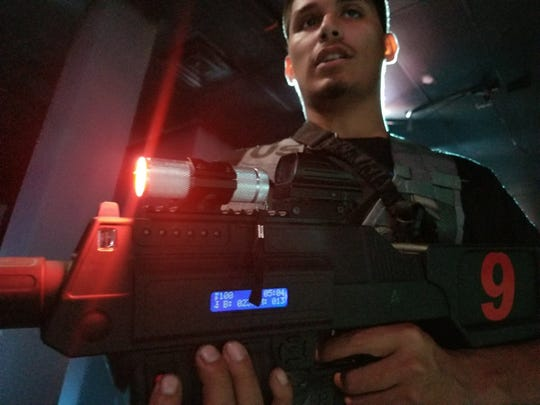 TAC-TX in Sunrise Mall will turn its laser tag course into a zombie apocalypse Oct. 24 through Oct. 31.