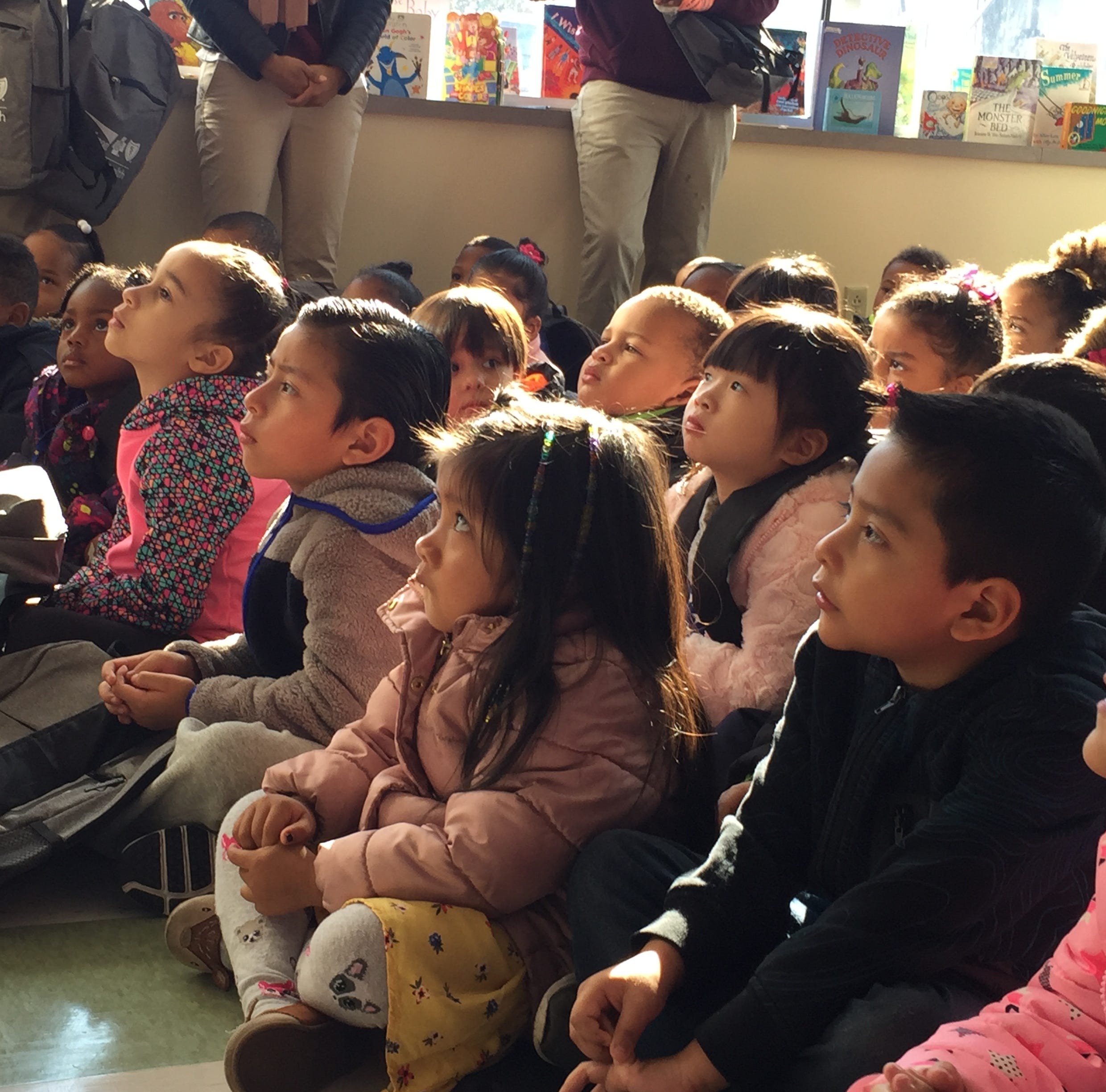 Children learn about dangers of lead in Camden