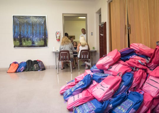 One option discussed Monday night during Chillicothe's Board of Education meeting to help improve school safety involves replacing traditional bookbags used today with clear bookbags that would allow staff members to see what students are carrying.