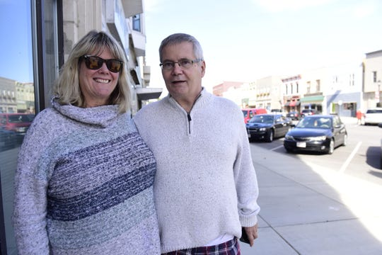 Elsebeth and Joe Baumgartner of Oak Harbor voted for Donald Trump in 2016 but are voting for Democrat Richard Cordray this year.