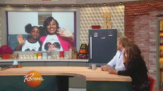 Leah Jones-Finklea and daughter Leiana, also known as Amazing Amy Amor, appear on the Rachael Ray Show, WXIX-TV, 11 a.m. Wednesday, Oct. 24.