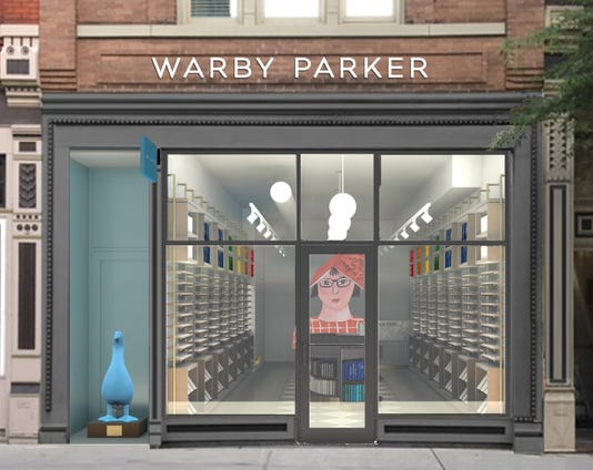 Warby Parker rendering