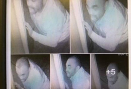 Clermont County Sheriff's Office said this man captured on surveillance camera looked inside a bedroom window of a home in Wayne Township.