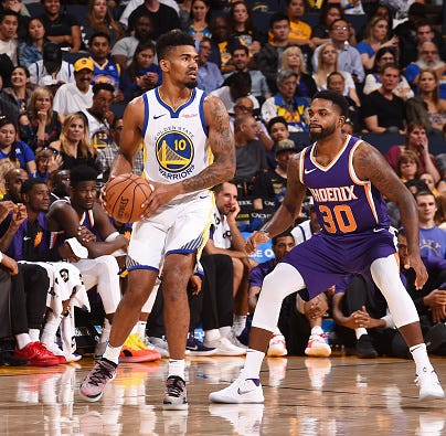 Former UC star Jacob Evans III scores first NBA basket in Golden State Warriors' win