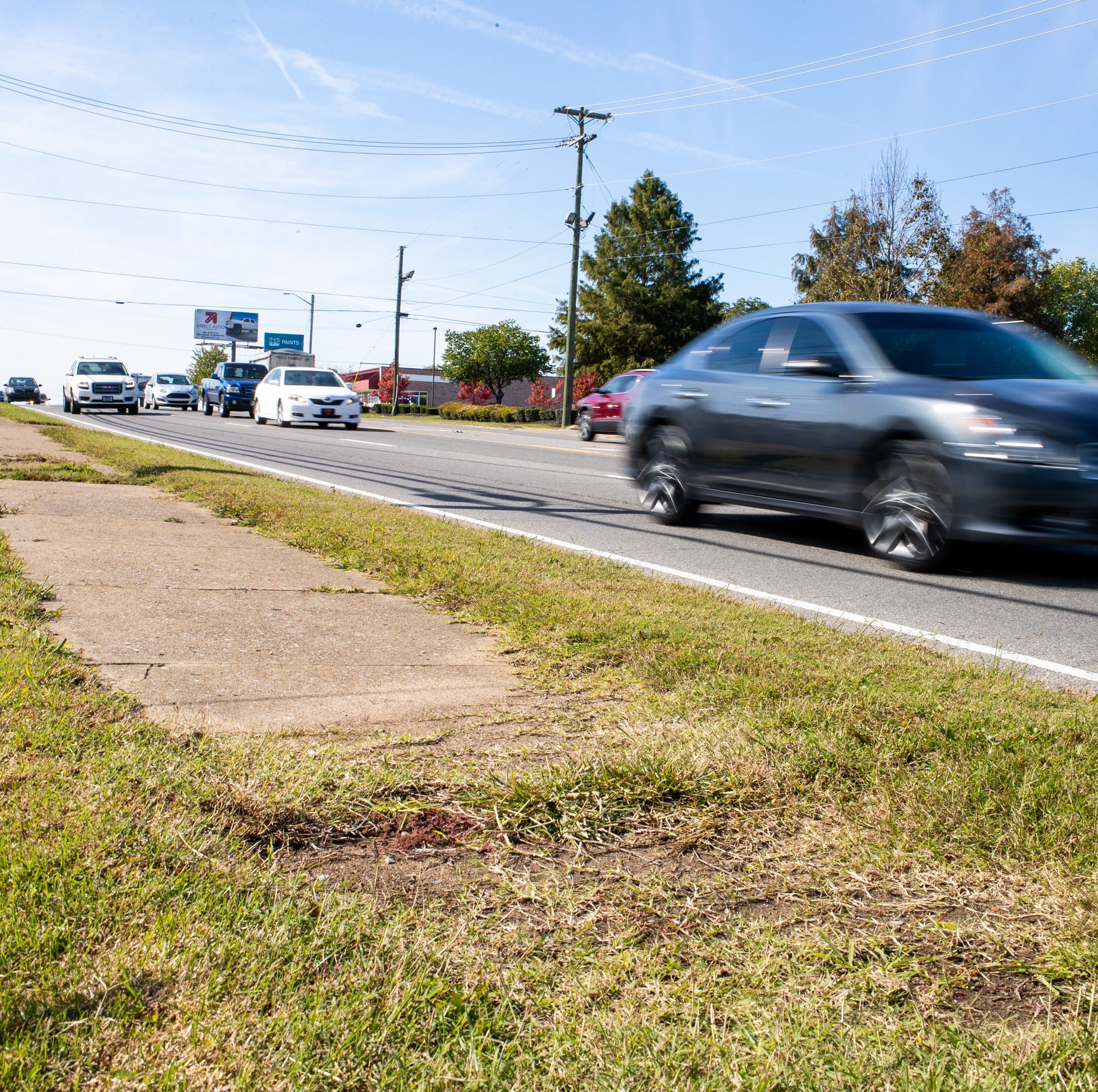 Sidewalks coming to Wilma Rudolph Boulevard, Fort Campbell Boulevard