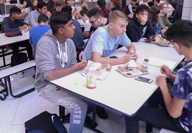 Sodexo, a food services and facilities management company that provides student nutrition to Old Bridge Schools, has launched Taste4, a new meal concept that revamps the classics - salads and wraps, deli sandwiches, pasta, grilled favorites, pizza – and elevates school lunch for today's sophisticated palettes.