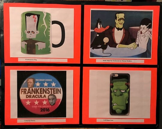 """On Tuesday, Oct,30, the Edison Arts Society will be showcasing local artist, Ron MacCloskey's, Frankenstein Artwork— a Two Hundred Year Celebration!"""" in the EAS Gallery on the third floor of the Municipal Building in Edison. The exhibit runs until Friday, Nov.9."""