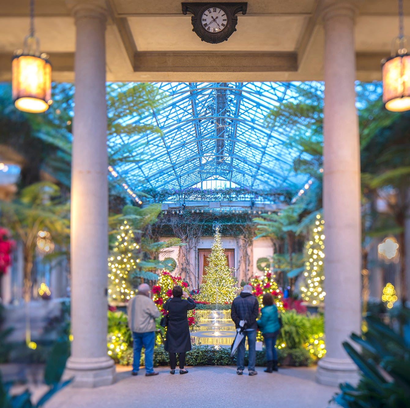 Longwood Gardens in Pennsylvania is a must-see for holiday splendor