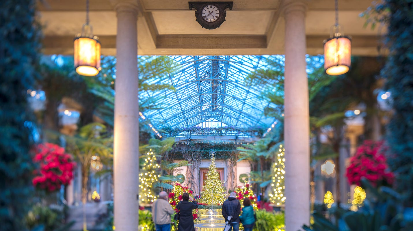 Longwood Gardens In Pennsylvania Is A Must See For Holiday Splendor