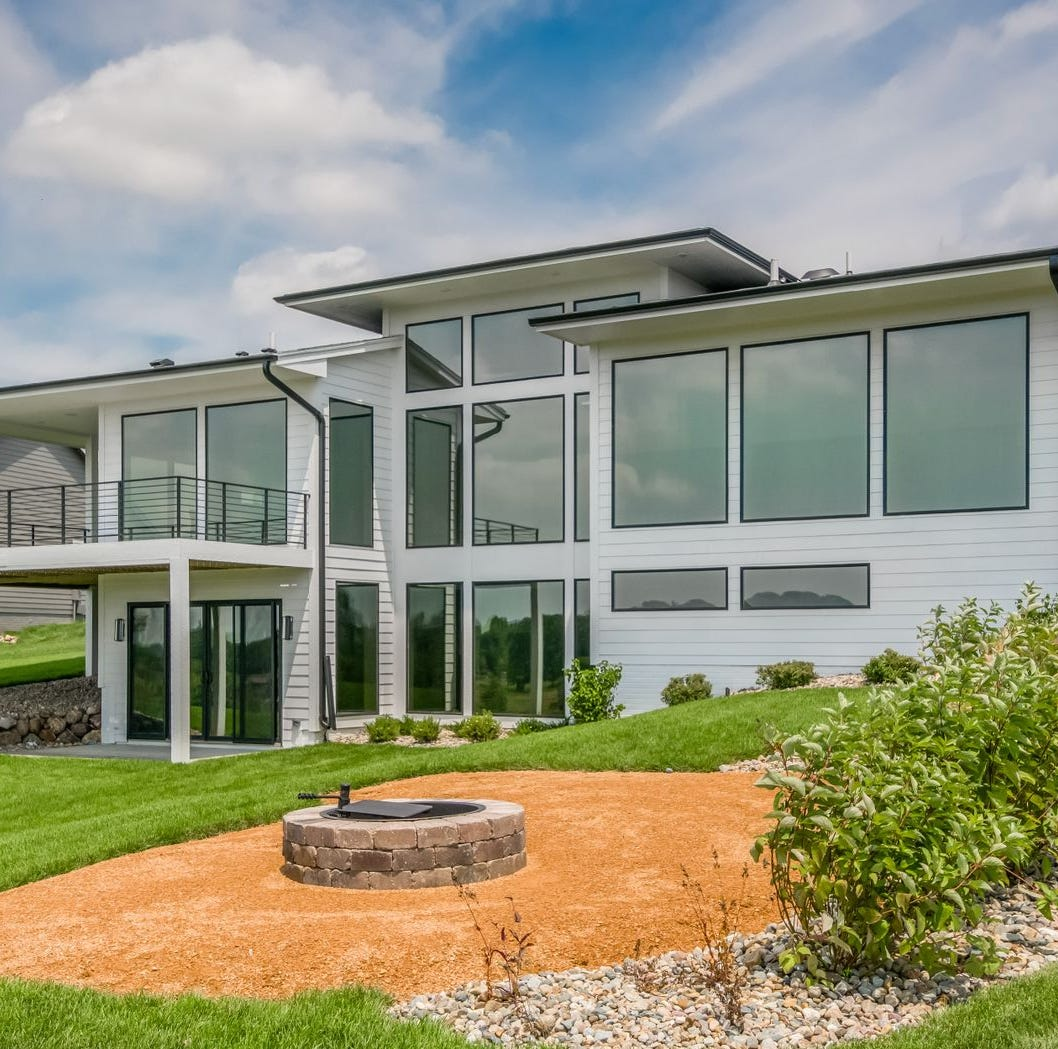 Cutting-edge technology, luxurious modern finishes fill this Norwalk home