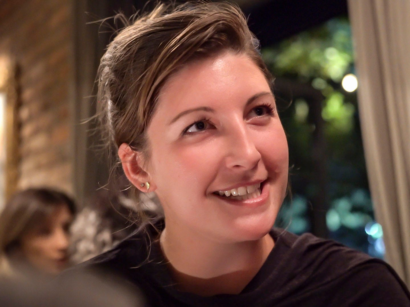 Suzanne Sontag, 25, of Ankeny, Project and Development Coordinatorfor TOKA, a summer camp that hosts exchanges between Kosovo and Iowa youth shown Wednesday Sept. 19, 2018, in Pristina, Kosovo.