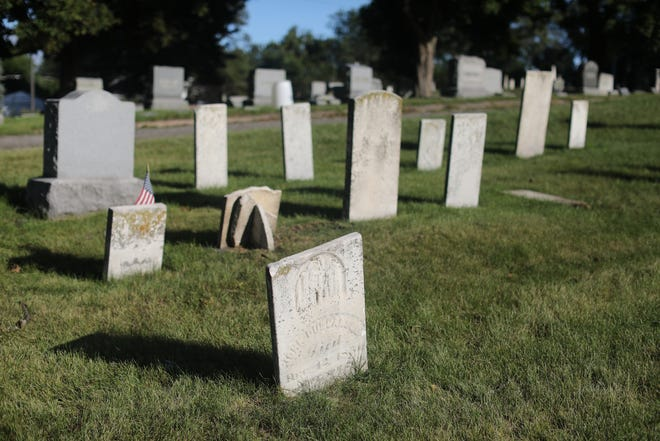 Consumers can hear about all sorts of discounts and sales on cemetery plots. But what costs aren't they telling you about? File photo: Woodlawn Cemetery in Monroe.