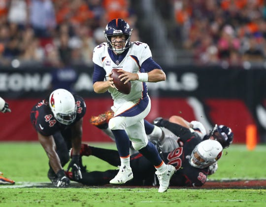20. Broncos (3-4) | Last game: Defeated the Cardinals, 45-10 | Previous ranking: 24