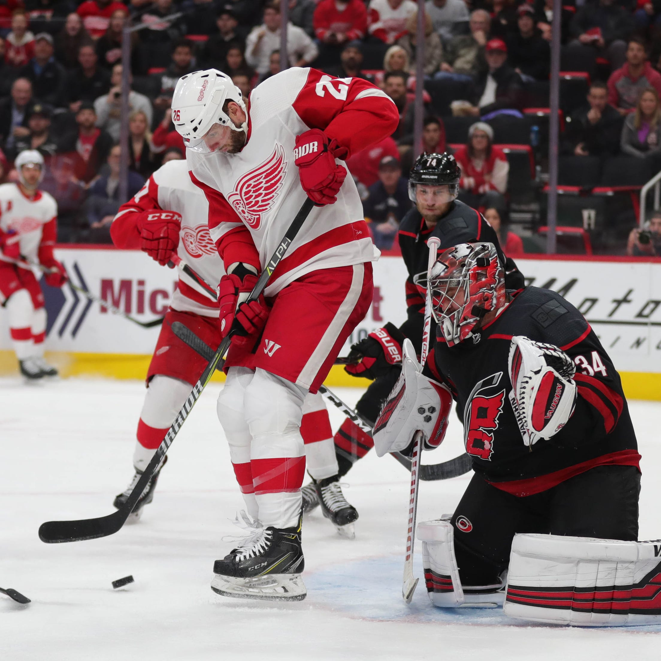 Jeff Blashill says Detroit Red Wings effort '100 percent inexcusable'