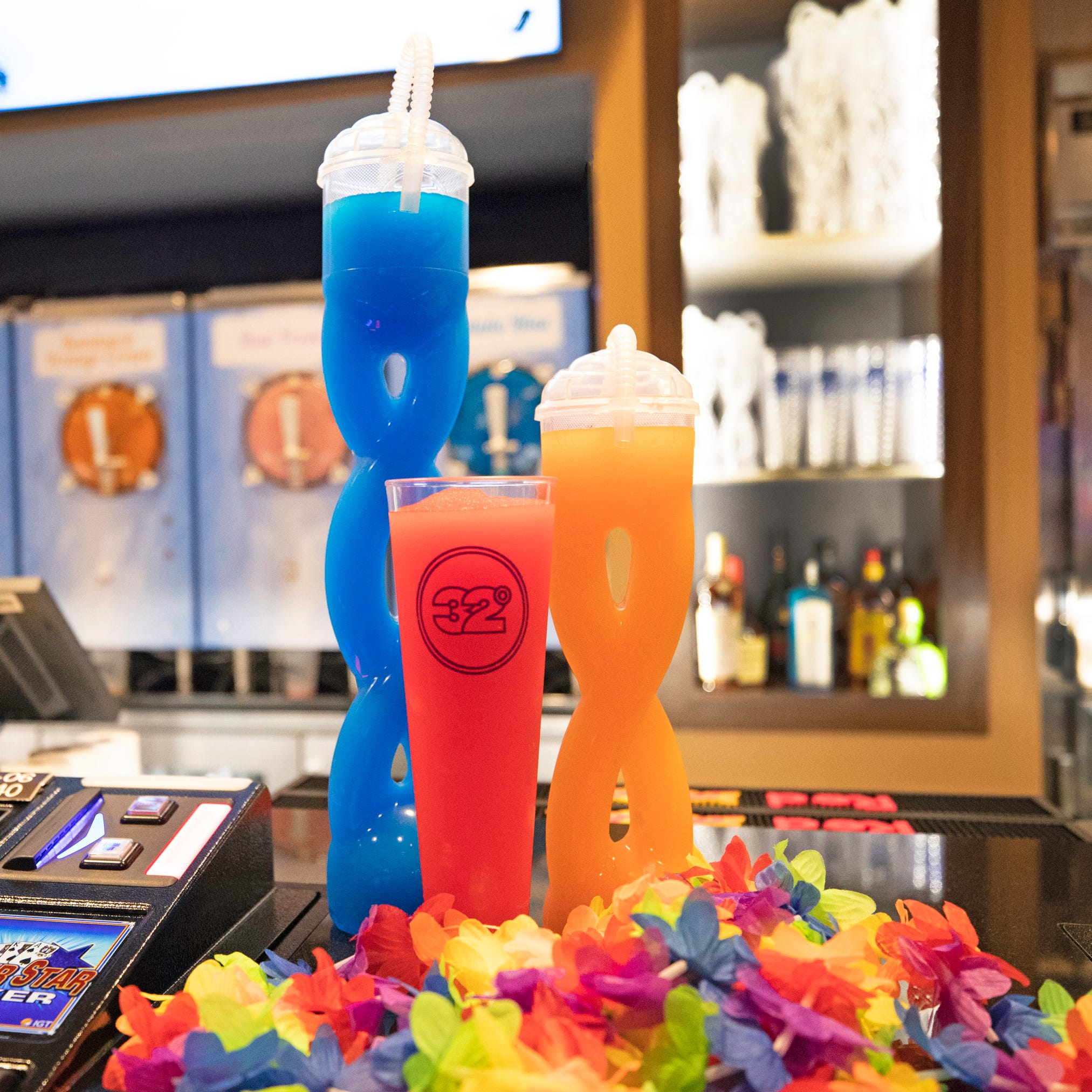 MGM Grand Detroit adds frozen daiquiri bar with 32 ounce cups