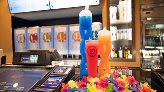 32 Degrees at MGM Grand Detroit serves 32-ounce frozen drinks.