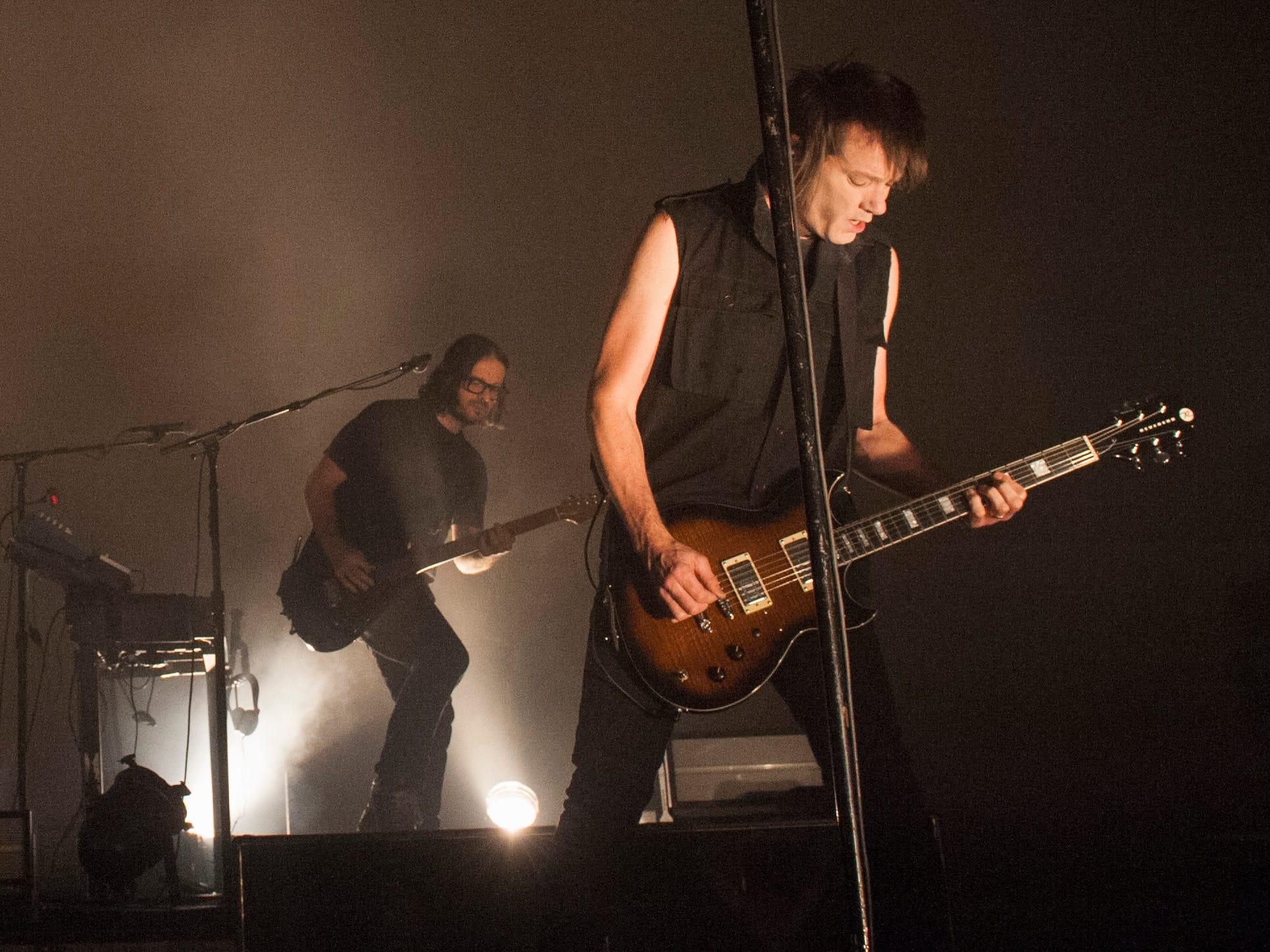 Nine Inch Nails guitarist Robin Finck.