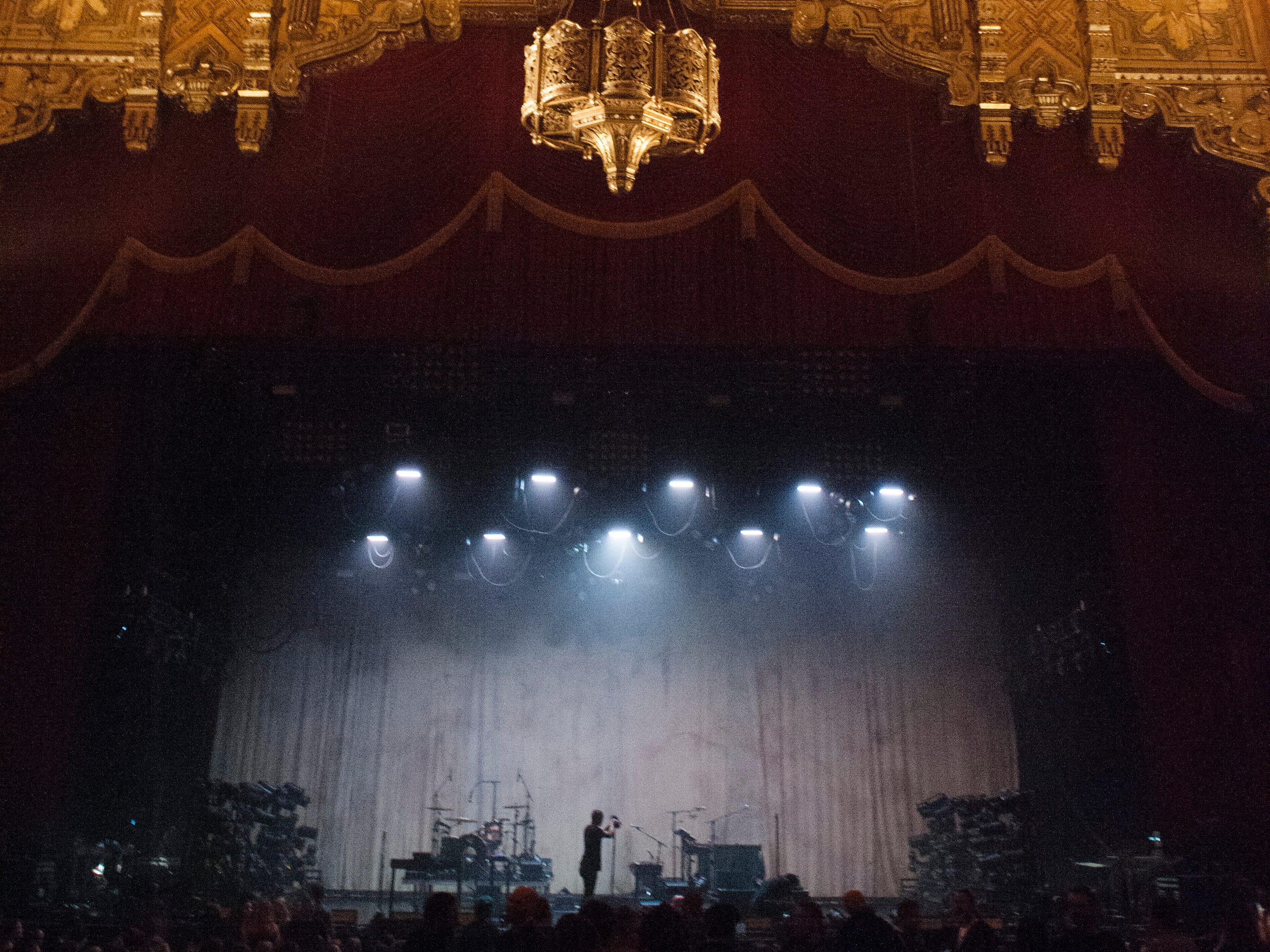 """Nine Inch Nails hit the Fox Theatre for its """"Cold and Black and Infinite"""" tour."""