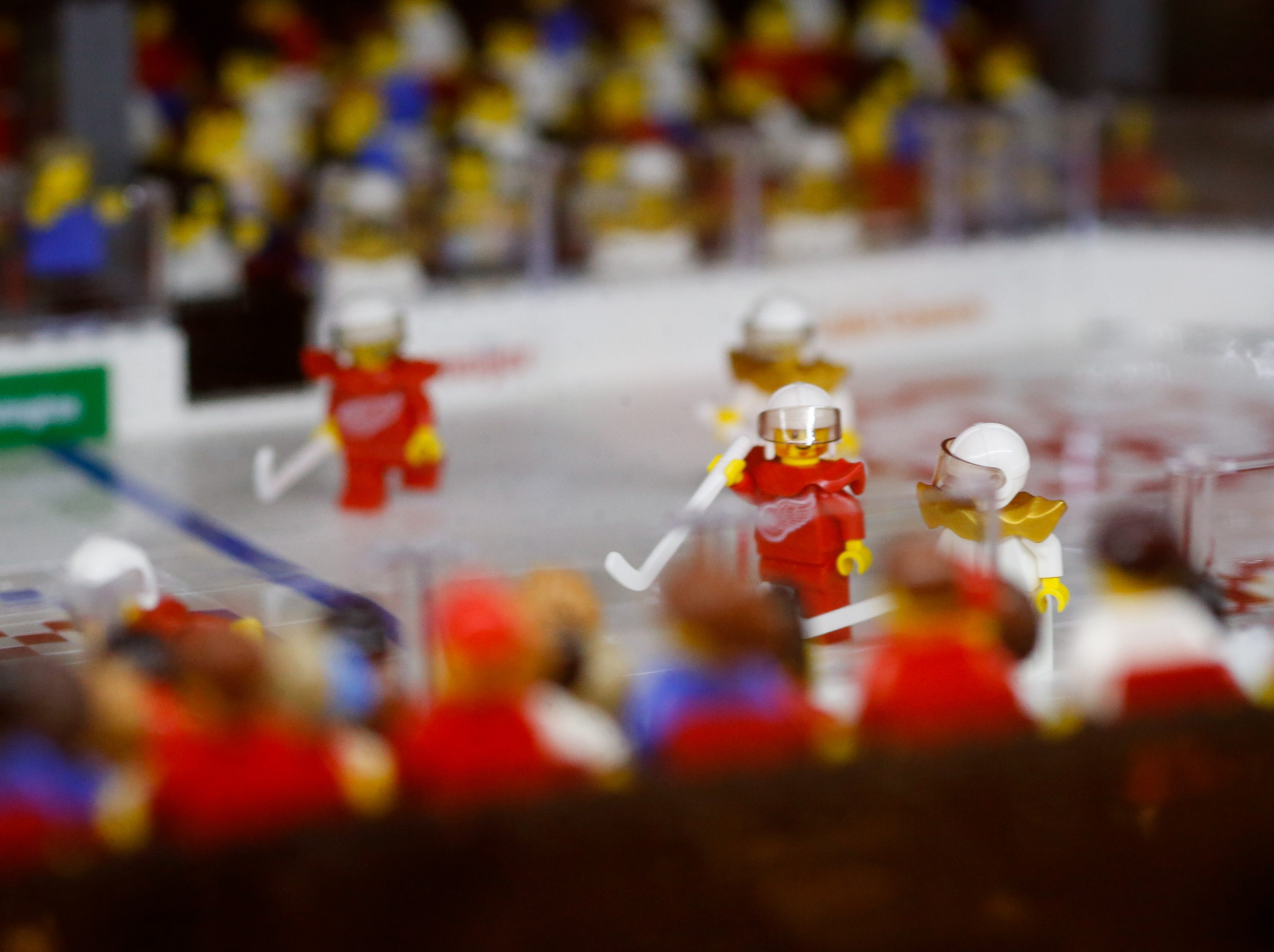 More LEGO action on the ice.
