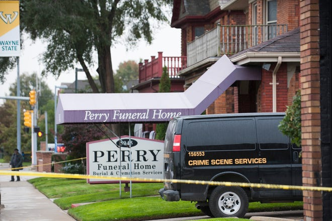 Perry Funeral Home is the subject of state and Detroit police investigations for allegedly mishandling remains and falsely claiming to have buried them. Attorneys for plaintiffs in a lawsuit that was granted class-action status earlier this month told a Wayne County judge Perry may have mishandled more than 200 infantand fetal remains.
