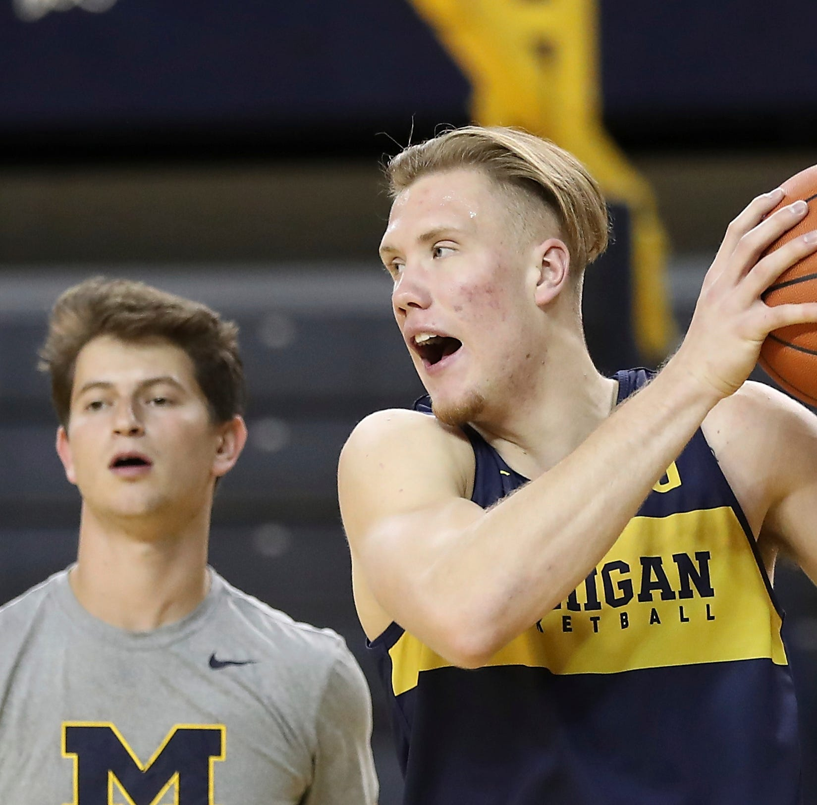 'No pressure, no diamond': UM's Brazdeikis embraces high expectations