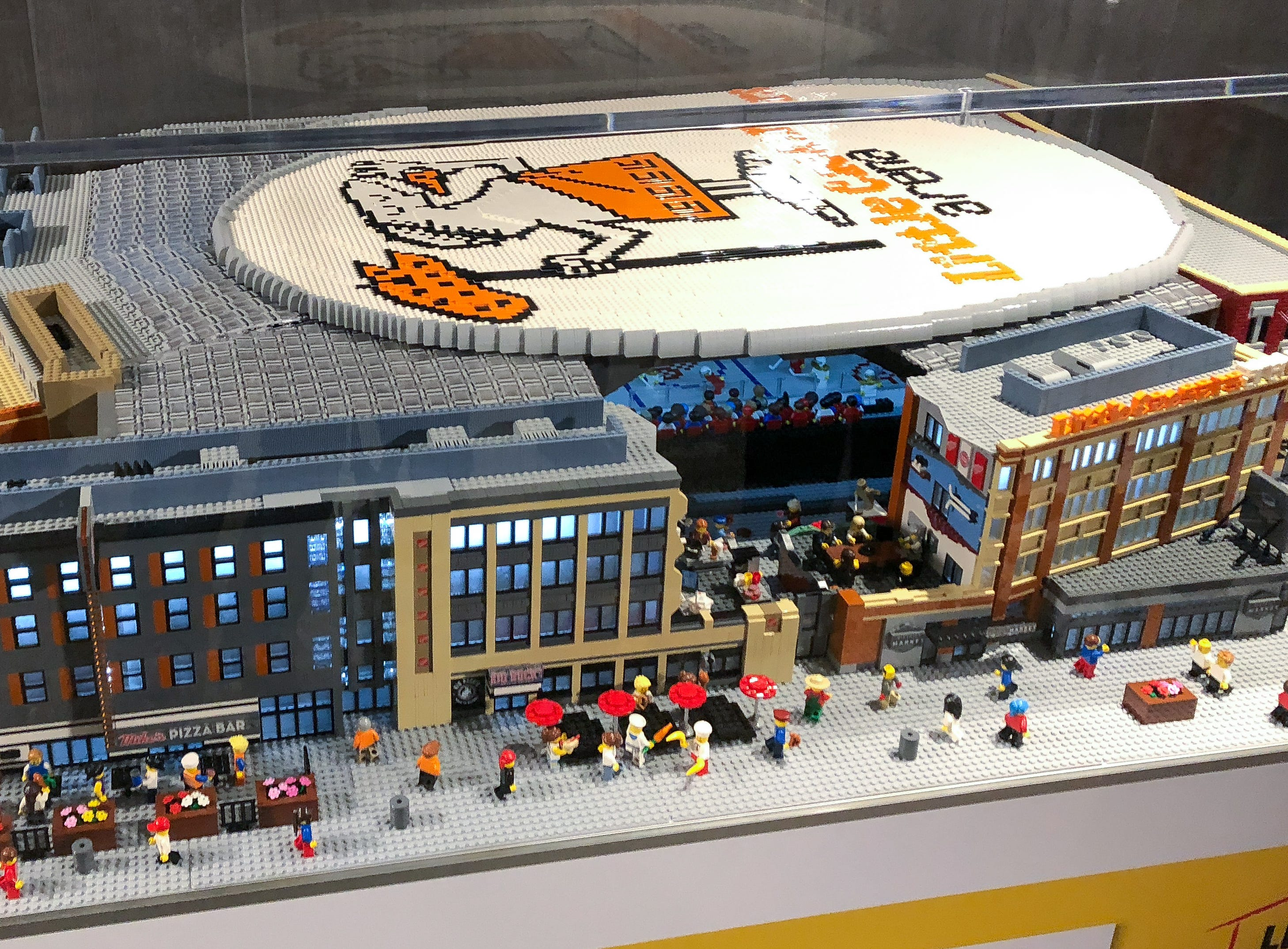 Once moved to LEGOLAND Auburn Hills, the model will join replicas of Ford Field and Comerica Park.
