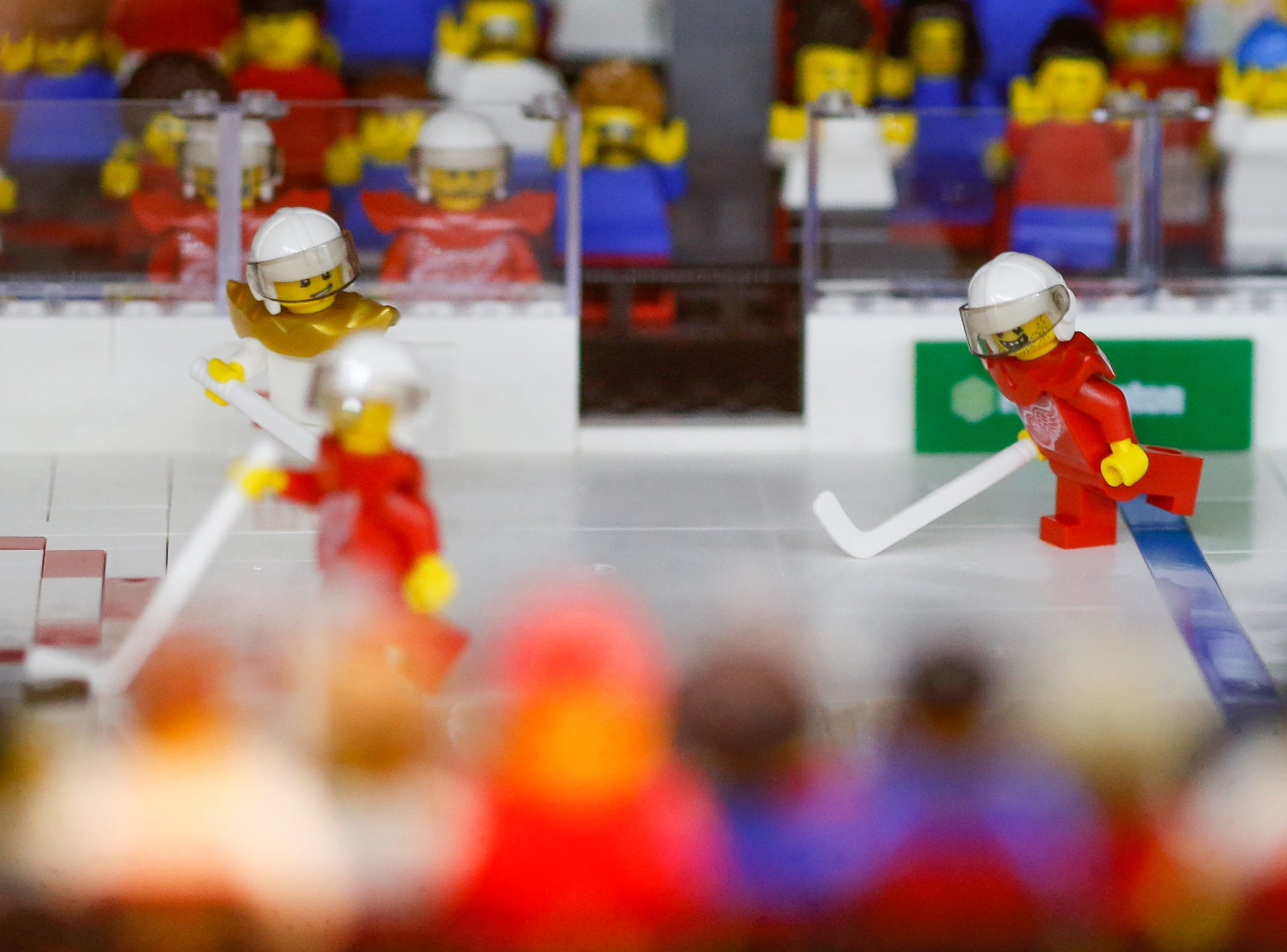 More action on the ice at LEGO LCA.