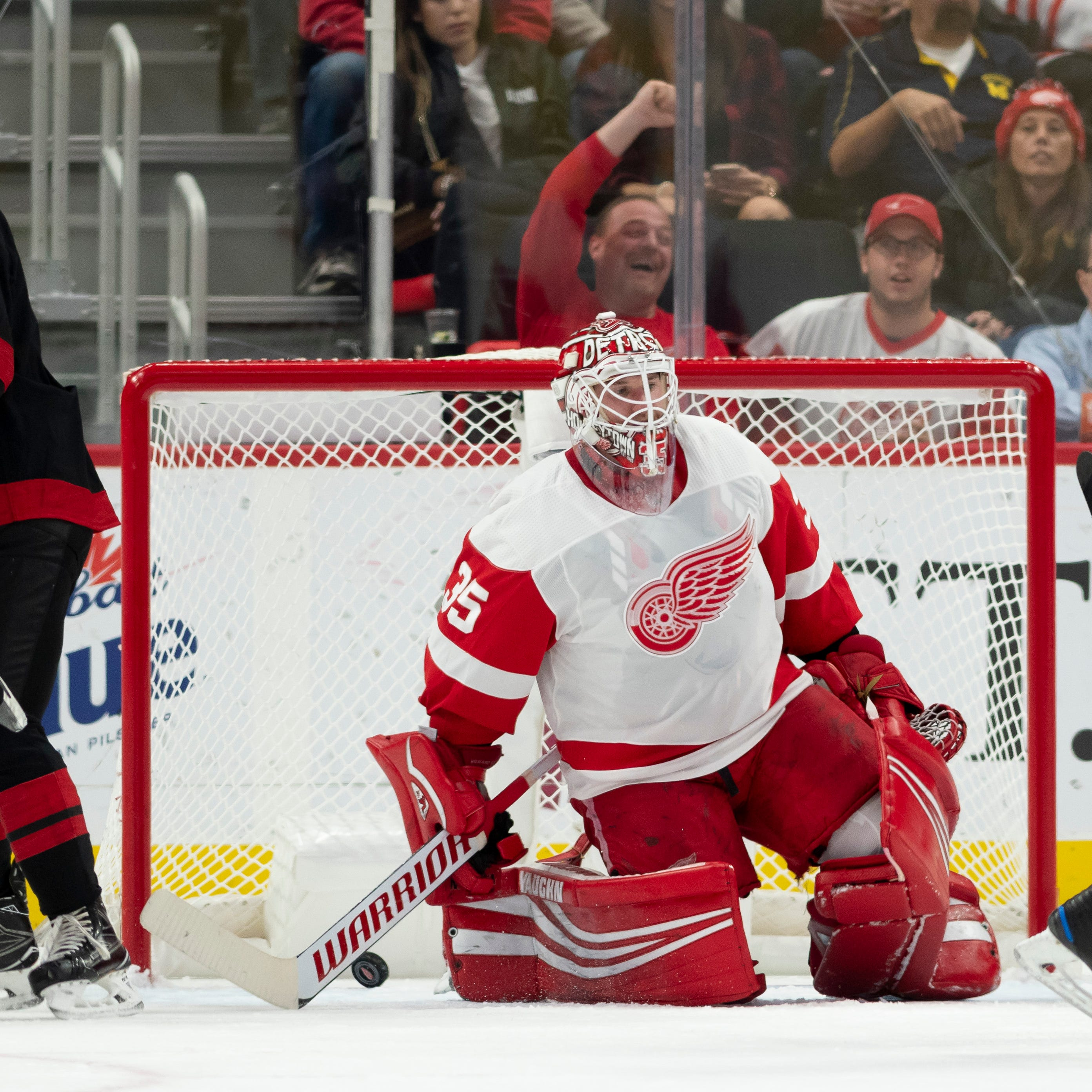 'Inexcusable': Red Wings sleepwalk through two periods, fall to Hurricanes