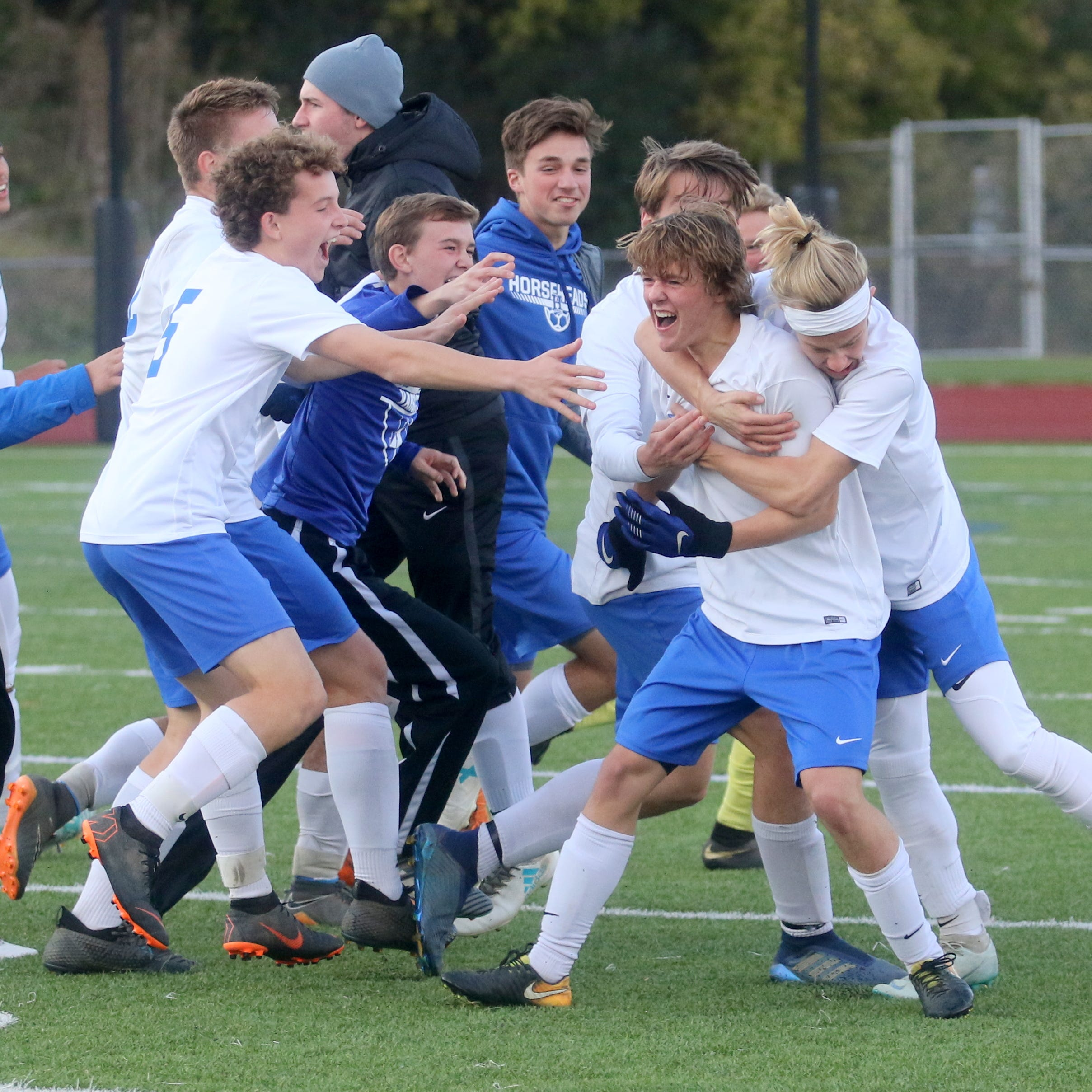 Thorpe's OT winner sends Horseheads past Elmira in Class AA boys soccer semifinal