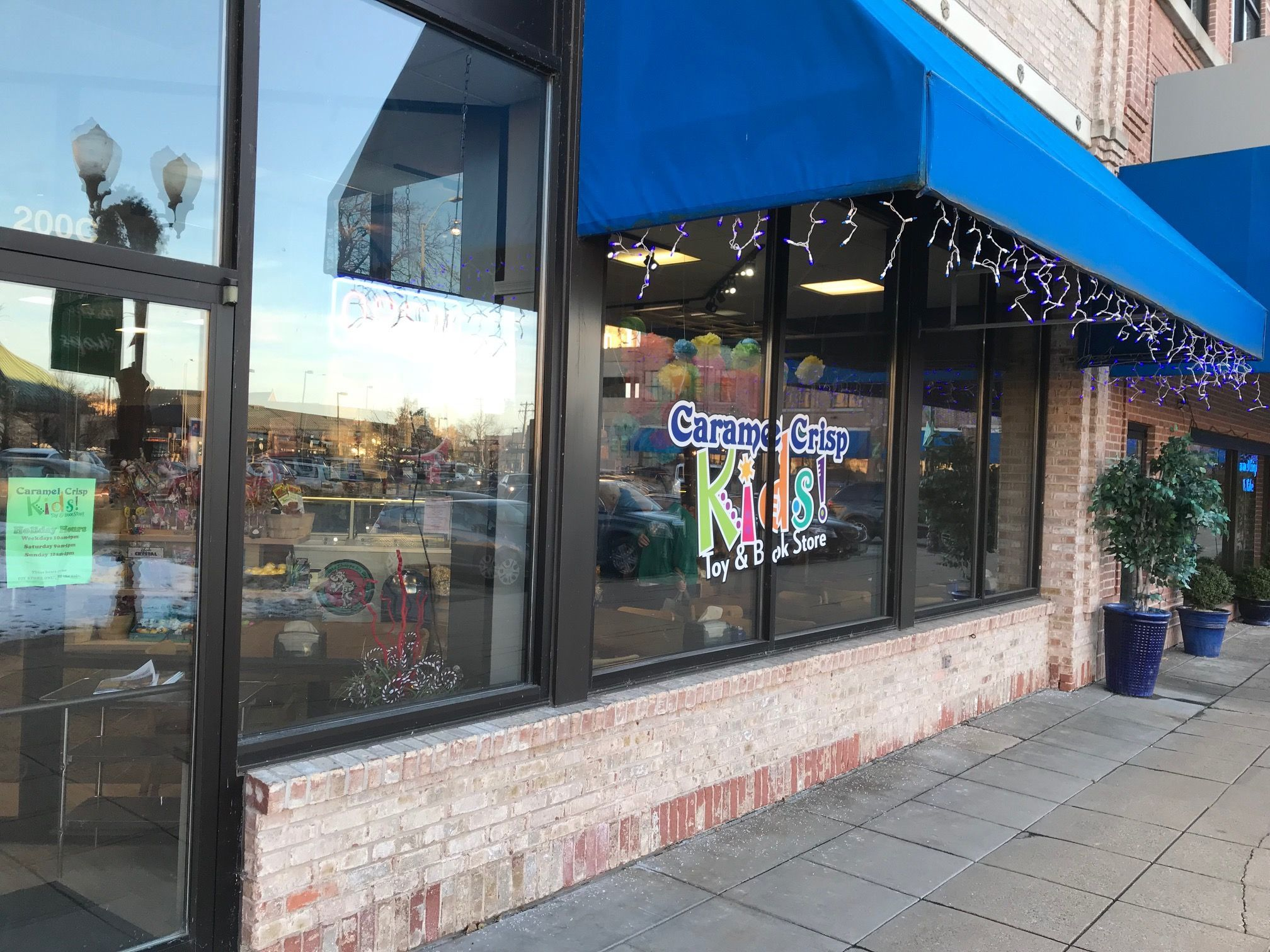 Caramel Crisp Cafe has expanded at its City Center location, growing its selection of toys, books and gifts.