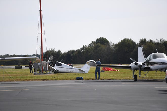 Greenville emergency crews responded to a plane crash at the Greenville Downtown Airport on Tuesday, Oct. 23, 2018. It was the third crash within three months at that airport.