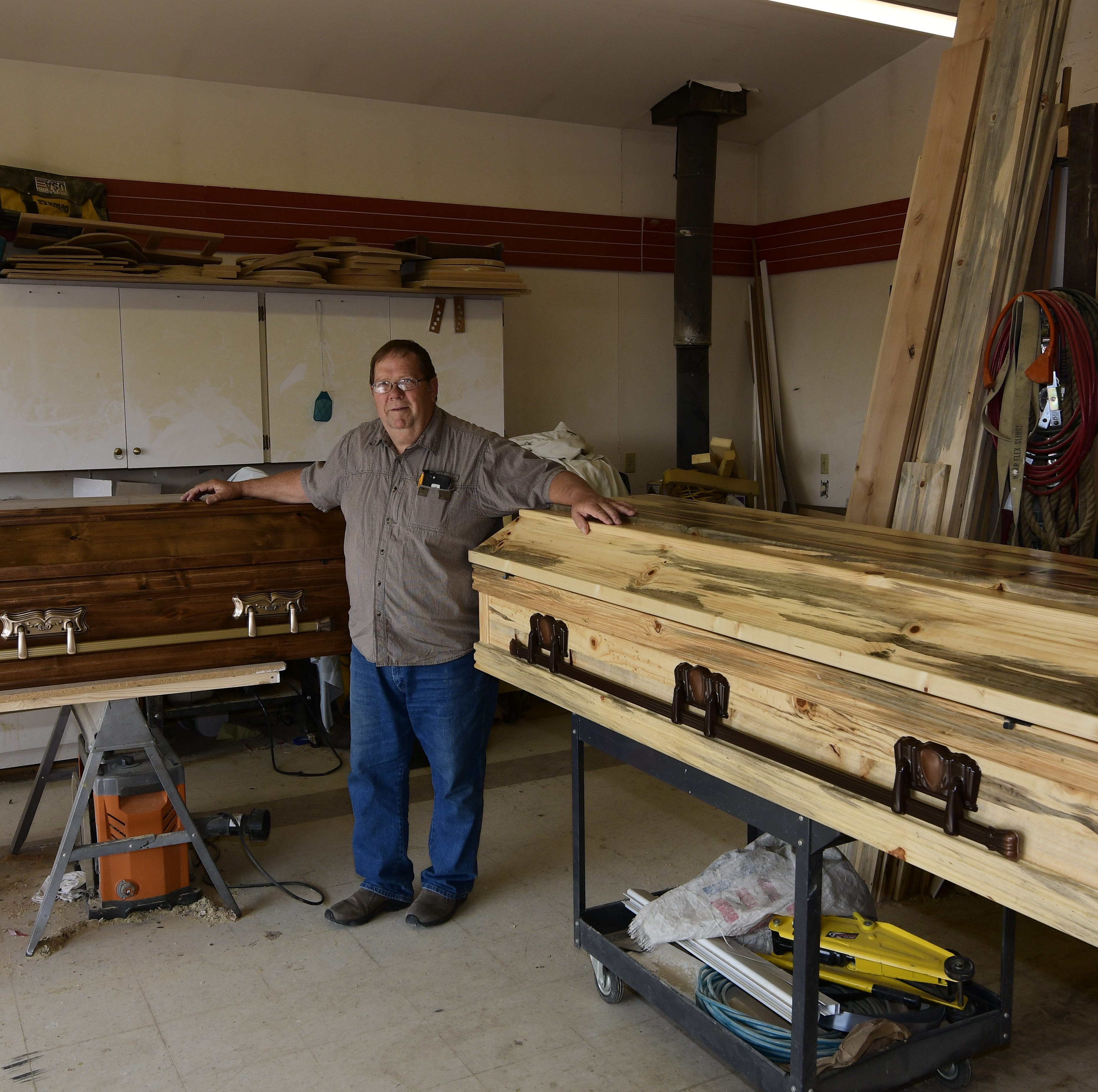 Montana casket maker's start in the business was a labor of love