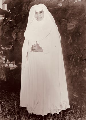Sr. Mary Jeanette Leon Guerrero, in this photo take sometime in the 1960s.