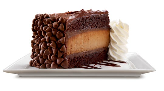 Hershey's Chocolate Bar Cheesecake from The Cheesecake Factory