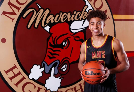 Robert Phinisee of McCutcheon High School is the 2018 Journal & Courier Big School Player of the Year for basketball.