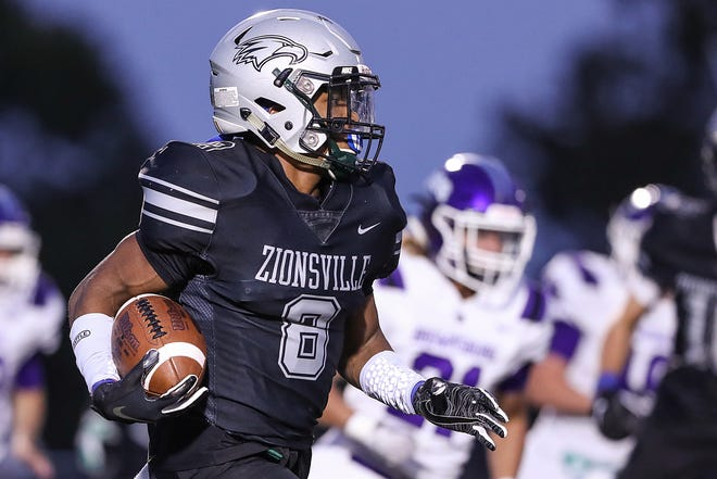 Tommy Fossett III and Zionsville get No. 1 and unbeaten New Palestine in Friday's Class 5A sectional semifinal.