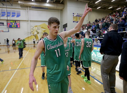 Cooper Neese graduated from Cloverdale as one the state's top scorers all-time.