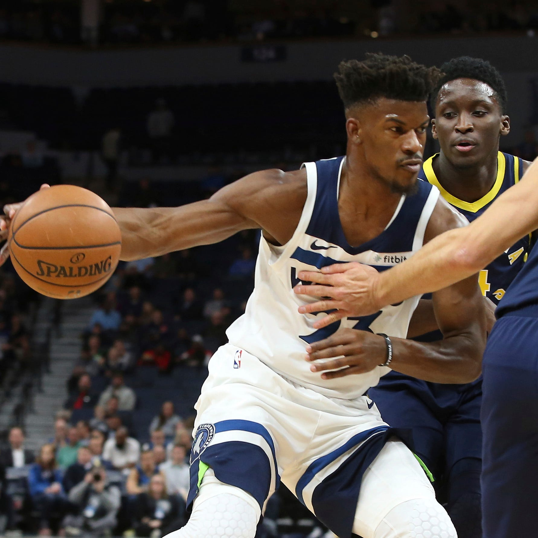 Pacers' offense bogs down with turnovers in road loss to Timberwolves