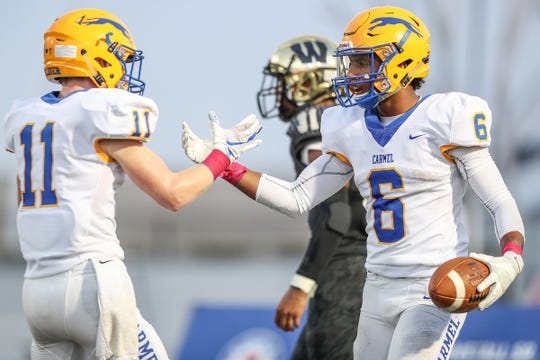 Carmel gets Westfield in sectional action on Friday.