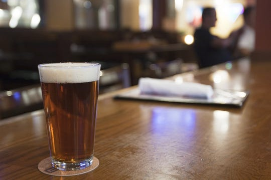 Some people believe that the ghost of a firefighter who perished in a blaze in the building that hosts downtown Indianapolis' Rock Bottom Brewery haunts the brewpub.